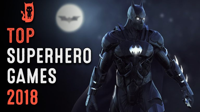 Top 10 Superhero Games for Android 2018
